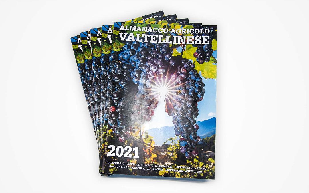 Almanacco Agricolo Valtellinese 2021 2 | Bonazzi Grafica