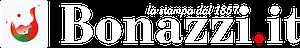 Logo Bonazzi Grafica Srl, bianco
