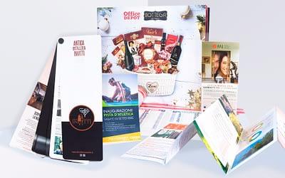 Conosci la differenza tra Flyer, Depliant e Brochure?