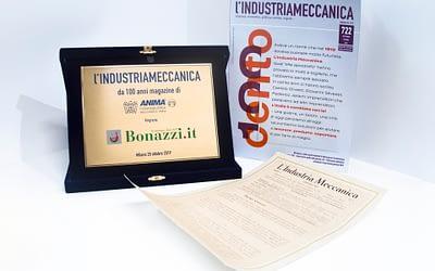 L'Industria Meccanica, il magazine d'informazione con una storia lunga 100 anni.