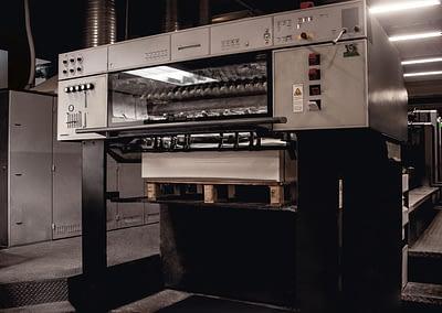 Stampa a foglio, Speedmaster Heidelberg - Tipografia Bonazzi